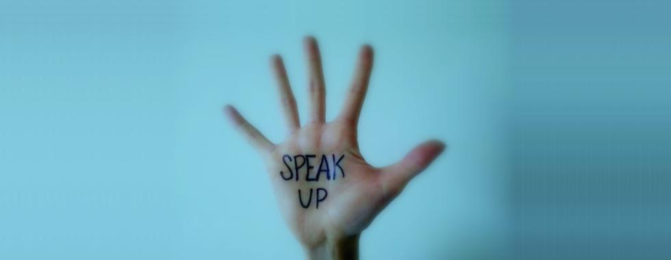 Speak Up Hand