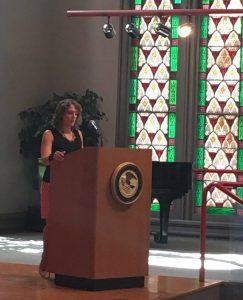 CCRI's former Victim Services Director Annmarie Chiarini